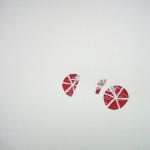 """Bike, Aluminum-lined paper, glue, paper. 13""""x9.5"""" 2010"""