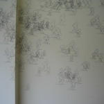 Garden (Table Rock), wall drawing, sharpie Dimensions variable 2009