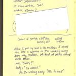 """Sketchbook4, Color Xerox 8.5""""x11"""" 2011"""