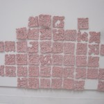 Mini Tiles. Aluminum-lined paper, glue. Dimensions Variable, 2012